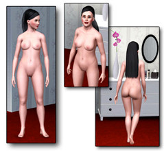The Sims 3 Nude Skin Natural Mod